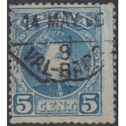 España Spain Variedad 242 1901/1905 Cadete Alfonso XIII Error color
