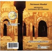 España Spain 2010 Cartera Oficial Moneda 2€ euros Proof  Mezquita de Córdona FNMT