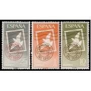 España Spain 1348/50 1961 Día Mundial del sello Lujo MNH