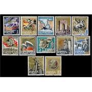 España Spain 1353/64 1961 XXV Aniversario Alzamiento Nacional LUJO MNH