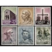 España Spain 1394/99 1961 XII Centenario de la Fundación Oviedo LUJO MNH