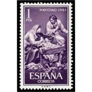 España Spain 1400 1961 Navidad MNH