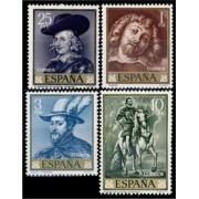 España Spain 1434/37 1962 Pedro Pablo Rubens Lujo MNH