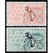 España Spain 1448/49 1962 Europa-CEPT LUJO MNH