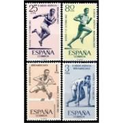 España Spain 1450/53 1962 II Juegos Atléticos Iberoamericanos LUJO MNH