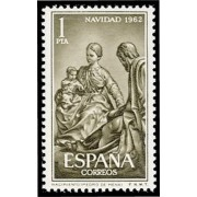 España Spain 1478 1962 Navidad LUJO MNH