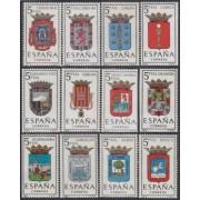 España Spain 1481/92 1963 Escudos de las capitales de provincias españolas MNH