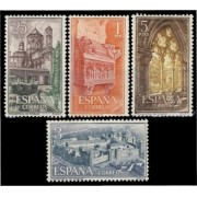 España Spain 1494/97 1963 Real Monasterio de Santa Maria de  Poblet LUJO MNH