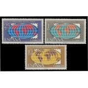 España Spain 1509/11 1963 Día mundial del sello LUJO MNH