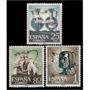 España Spain 1513/15 1963 Congreso Inst. Hispánicas  LUJO MNH