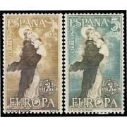 España Spain 1519/20 1963  Europa-CEPT LUJO MNH