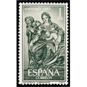 España Spain 1535 1963 Navidad Lujo MNH