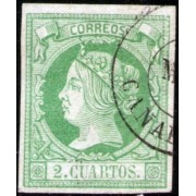 España Spain 51 1860 - 1861 Isabel II