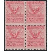 España Spain 454 Bl.4 1929 Pegaso MNH