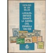 CATÁLOGO SOFIMA SELLOS LOCALES GUERRA CIVIL 1936 -1939