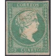 España Spain 43 1856 Isabel II