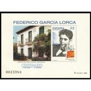 España Spain Prueba de lujo  65 1998 Federico García Lorca