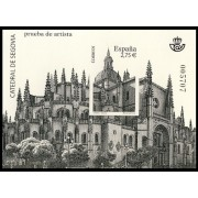 España Spain Prueba de lujo 102 2010  Catedral de Segovia