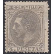 España Spain 208 1879 Alfonso XII