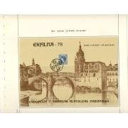 España Spain Hojitas Recuerdo 66 1978 FNMT Exfilna 78