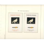 España Spain Hojitas Recuerdo 67/68 1978 FNMT Homenaje a Picasso Barnafil 78