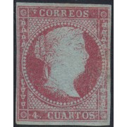 España Spain 40 1855 ISABEL II MH STAMPS