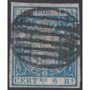 España Spain 27 1854 Escudo de España