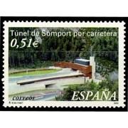 España Spain 3957 2003 Túnel de Somport, lujo MNH