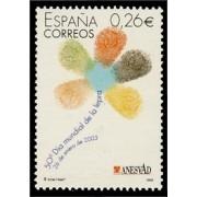 España Spain 3959 2003 L Día Mundial de la Lepra, lujo MNH