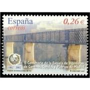 España Spain 3966 2003 II Centenario de la Escuela de Ingenieros de Caminos Canales y Puertos de Madrid, lujo MNH