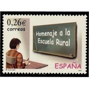 España Spain 3978 2003 Homenaje a la Escuela Rural, lujo MNH