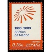 España Spain 3983 2003  Centenario del Club Alético de Madrid, lujo MNH
