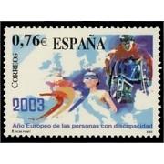 España Spain 3985 2003 Año europeo de las personas con discapacidad, lujo MNH