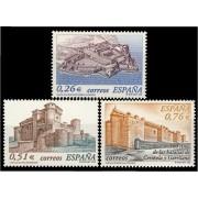 España Spain 3986/88 2003 Castillos, lujo MNH