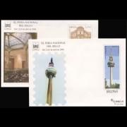 Sobres Enteros Postales 120/21 XL Feria Nacional del sello Madrid 2008