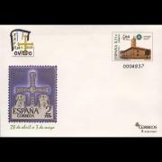 Sobres Enteros Postales 122 Exfilna 2008  Oviedo
