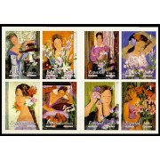 España Spain 4003/10 2003 La mujer y las Flores Carné, lujo MNH