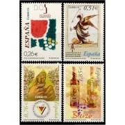 España Spain 4015/18  2003 Vinos con denominación de origen, lujo MNH