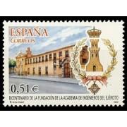 España Spain 4019 2003 Bicenteanrio de la Academia de Ingenieros del Ejército, lujo MNH