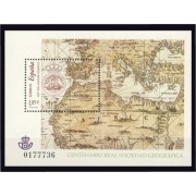 España Spain 4021 2003 Centenario de la Real Sociedad Geografica, lujo MNH