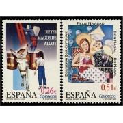 España Spain 4031/32 2003 Navidad, lujo MNH