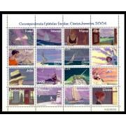 España Spain 4065/68 2004 Correspondencia Epistolar escolar, lujo MNH