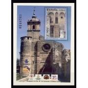 España Spain 4069 2004 Monasterio de Santa Maria de Carracedo, lujo MNH