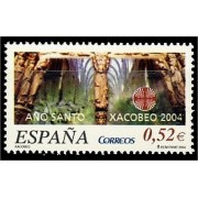 España Spain 4095 2004 Xacobeo 2004, lujo MNH