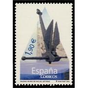 España Spain 4101 2004 Museo de Anclas Philippe Costeau, lujo MNH