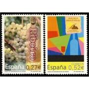 España Spain 4112/13 2004 Vinos con denominación de origen, lujo MNH