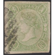 España Spain 72 1865 Isabell II