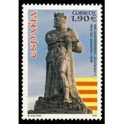 España Spain 4127 2004 CM Aniversario de la proclamación de Alfonso I el Batallador como Rey de Aragón, lujo MNH