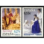 España Spain 4128/29 2004 Navidad, lujo MNH