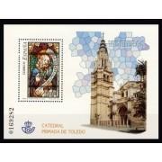 España Spain 4132 2004 Vidrieras de la Catedral de Toledo, lujo MNH